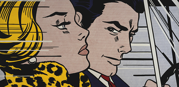 Roy-Lichtenstein-In-The-Car-1963
