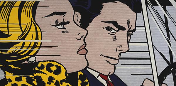 Roy-Lichtenstein-In-The-Car-1963